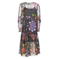 textil Dame Lange kjoler Desigual PORTLAND Flerfarvet