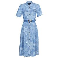 textil Dame Lange kjoler Desigual KATE Blå
