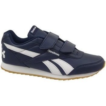 Sko Børn Lave sneakers Reebok Sport Royal Cljog 2 2V Hvid,Flåde