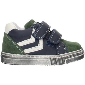 Sko Dreng Høje sneakers Balocchi 993270 Blue and green