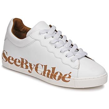 Sko Dame Lave sneakers See by Chloé SB33125A Hvid