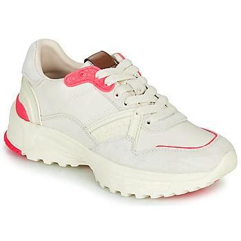 Sko Dame Lave sneakers Coach C143 RUNNER Hvid / Pink