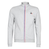 textil Herre Sportsjakker Le Coq Sportif ESS FZ Sweat N°2 M Grå / Marmoreret