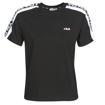 textil Dame T-shirts m. korte ærmer Fila TANDY Sort