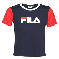 textil Dame T-shirts m. korte ærmer Fila SALOME Marineblå / Rød