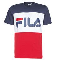 textil Herre T-shirts m. korte ærmer Fila DAY Marineblå / Rød / Hvid