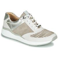 Sko Dame Lave sneakers JB Martin 1KALIO Beige / Hvid / Sølv
