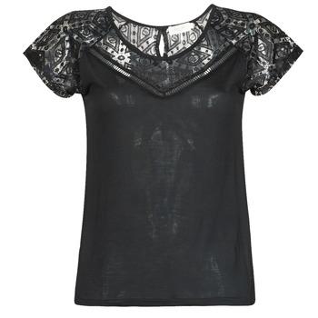 textil Dame T-shirts m. korte ærmer Deeluxe CLEA Sort