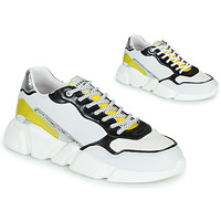 Sko Dame Lave sneakers Serafini OREGON Hvid / Sort / Gul