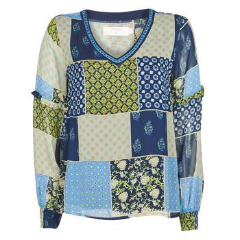 textil Dame Toppe / Bluser Cream CLODIE Blå