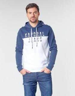textil Herre Sweatshirts Kaporal TOSCA Hvid / Blå