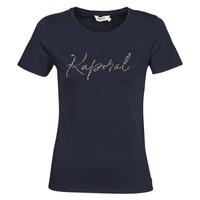 textil Dame T-shirts m. korte ærmer Kaporal RAXI Marineblå