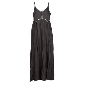 textil Dame Lange kjoler Kaporal ANGEL Sort