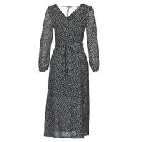 textil Dame Lange kjoler Ikks BQ30085-03 Sort