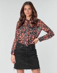 textil Dame Toppe / Bluser Ikks BQ13105-03 Flerfarvet