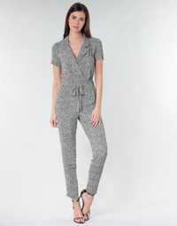 textil Dame Buksedragter / Overalls Ikks BQ32045-03 Sort / Hvid