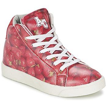 Høje sneakers til barn American College RED (2037730487)