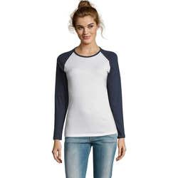 textil Dame Langærmede T-shirts Sols MILKY LSL SPORT Multicolor