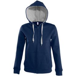 textil Dame Sweatshirts Sols SOUL WOMEN SPORT Azul