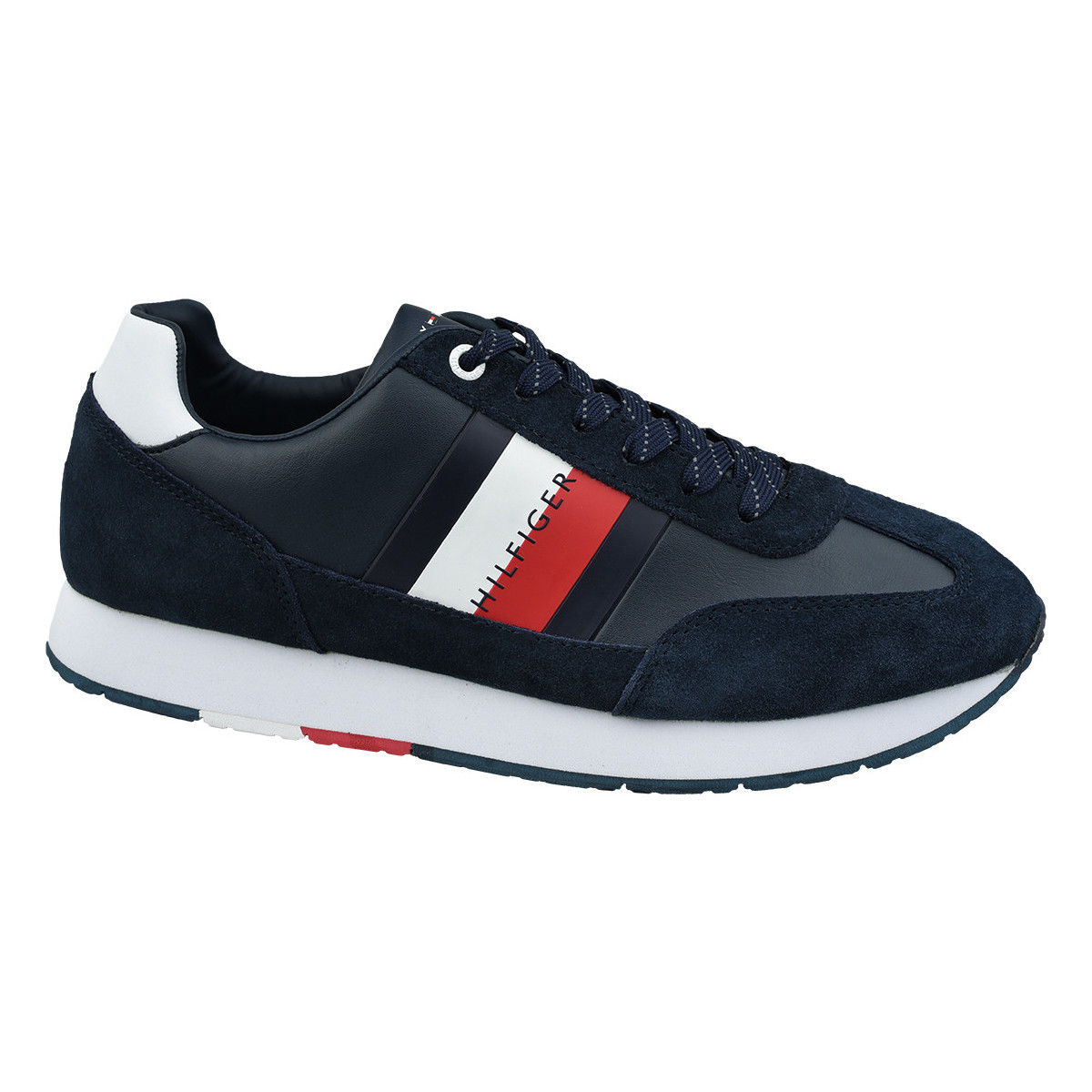Sneakers Tommy Hilfiger  Corporate Leather Flag Runner FM0FM02380-403