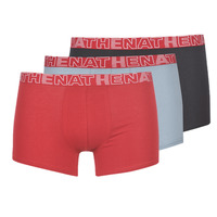 Undertøj Herre Trunks Athena BASIC COLOR Sort / Bordeaux / Grå