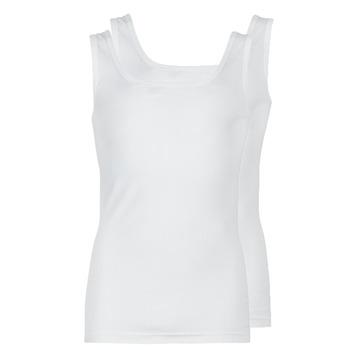 textil Herre Toppe / T-shirts uden ærmer Athena COTON BIO Hvid