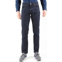 textil Herre Lige jeans Wrangler Greensborg W15QBR77S Navy blue