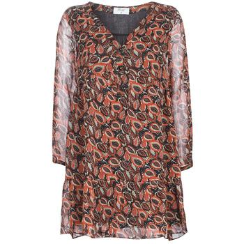 textil Dame Korte kjoler Betty London LETICIA Sort / Rød