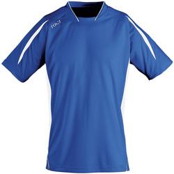 textil Herre T-shirts m. korte ærmer Sols MARACANA 2 SSL SPORT Azul