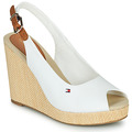 Sandaler Tommy Hilfiger  ICONIC ELENA SLING BACK WEDGE