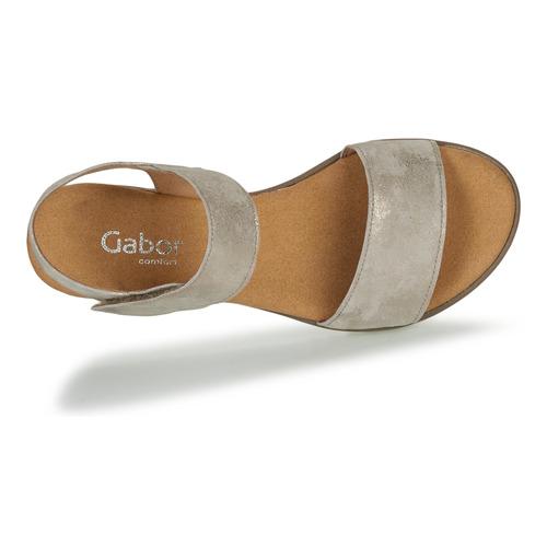 KARIBITOU  Gabor  sandaler  dame  guld 2F58f