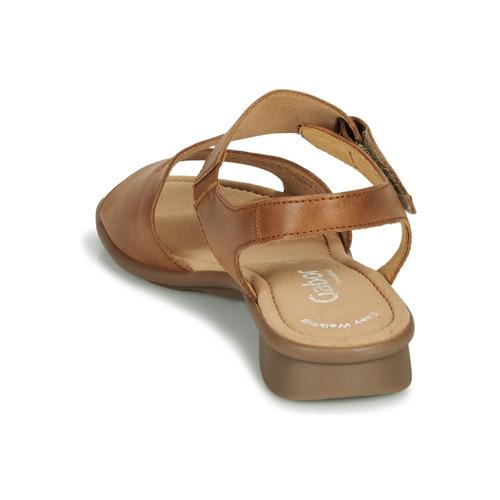 KESTE  Gabor  sandaler  dame  cognac EYbGS