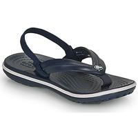 Sko Børn Flip flops Crocs Crocband Strap Flip K Marineblå