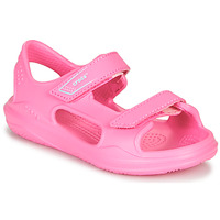 Sko Pige Sportssandaler Crocs SWIFTWATER EXPEDITION SANDAL K Pink