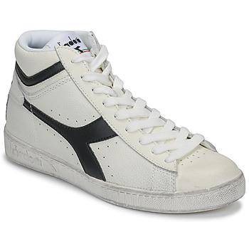 Sko Høje sneakers Diadora GAME L HIGH WAXED Hvid / Sort
