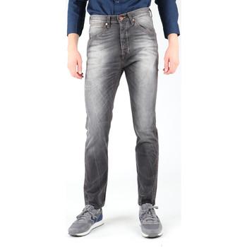 textil Herre Smalle jeans Wrangler Vedda W12ZNP21Z Navy blue