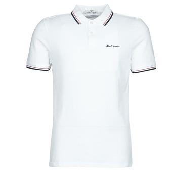 textil Herre Polo-t-shirts m. korte ærmer Ben Sherman SIGNATURE POLO Hvid / Sort