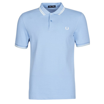 textil Herre Polo-t-shirts m. korte ærmer Fred Perry TWIN TIPPED FRED PERRY SHIRT Blå