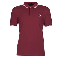 textil Herre Polo-t-shirts m. korte ærmer Fred Perry TWIN TIPPED FRED PERRY SHIRT Bordeaux