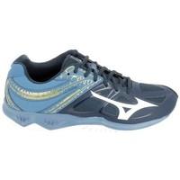 Sko Herre Basketstøvler Mizuno Thunder Blade 2 Bleu Blå