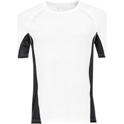 textil Herre T-shirts m. korte ærmer Sols SYDNEY MEN SPORT Blanco