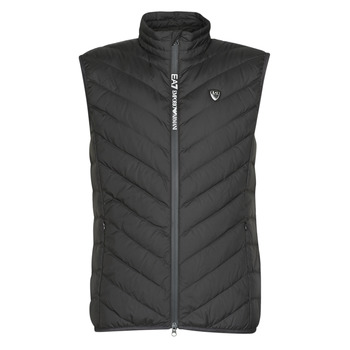 textil Herre Dynejakker Emporio Armani EA7 TRAIN CORE SHIELD M DOWN LIGHT VEST Sort