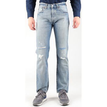 textil Herre Lige jeans Levi's Levis 501-0605 blue