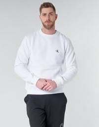 textil Herre Sweatshirts Calvin Klein Jeans CK ESSENTIAL REG CN Hvid