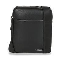 Tasker Herre Bæltetasker & clutch  Calvin Klein Jeans CK BOMBE' FLAT CROSSOVER Sort