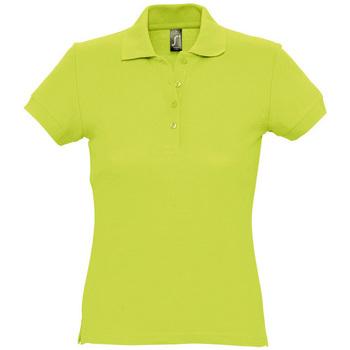 textil Dame Polo-t-shirts m. korte ærmer Sols PASSION WOMEN COLORS Verde