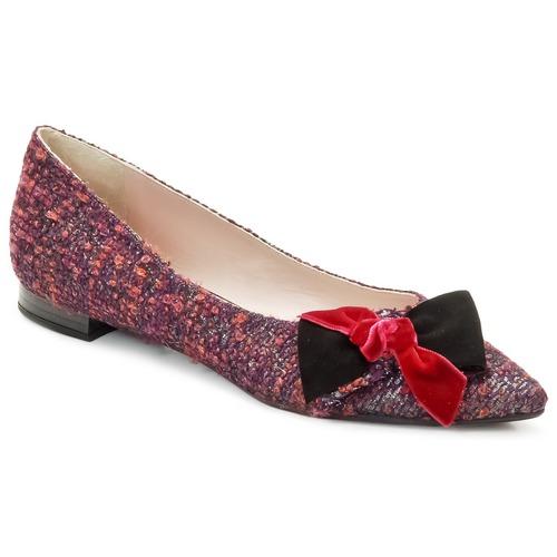 Sko Dame Ballerinaer Magrit Rosy Knot Flerfarvet / Pink