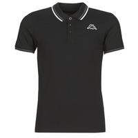 textil Herre Polo-t-shirts m. korte ærmer Kappa ESMO Sort