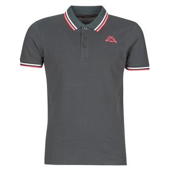 textil Herre Polo-t-shirts m. korte ærmer Kappa ESMO Grå / Hvid / Orange