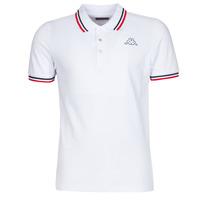 textil Herre Polo-t-shirts m. korte ærmer Kappa ESMO Hvid
